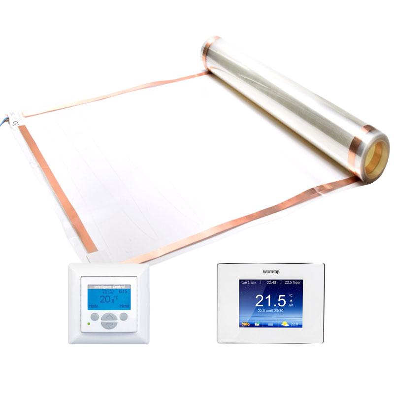 Vloerverwarming folie 120w/m² & 140W/m²