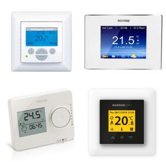 Thermostaten - Wifi, klok & standaard AAN/UIT