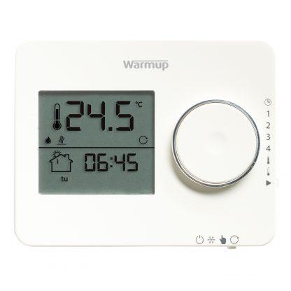 Tempo digitale klokthermostaat porselein wit