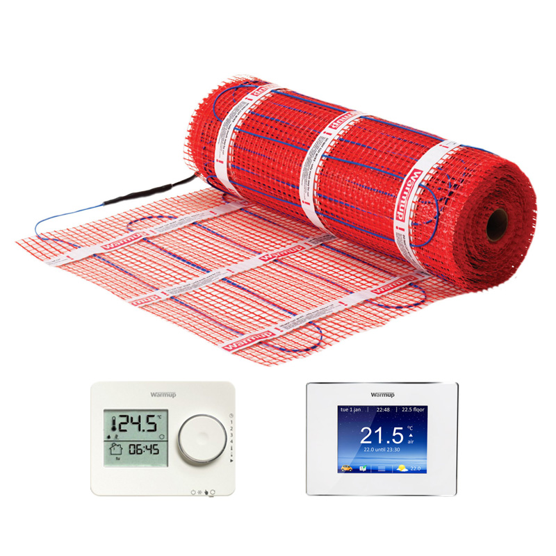 StickyMat elektrische vloerverwarming matten 150 watt per m²